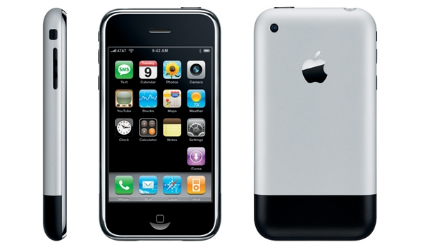 Nguyên bản iPhone 2G. (Ảnh: internet)
