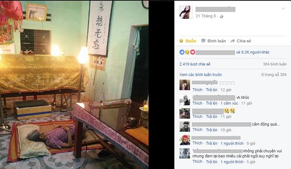 Bài viết của cô gáinhận được tới hơn 9.000 lượt thích, hơn 2.400 lượt chia sẻ từ dân mạng.(Ảnh: Chụp màn hình)