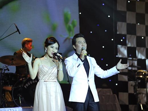 Hình ảnh của BTV Hoài Anh trong những chương trình sau này, giọng hát của cô luôn được mọi người yêu thích.