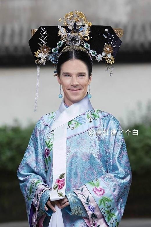 Benedict Cách Cách với nhan sắc kém xinh và quai hàm bạnh thiếu nữ tính.