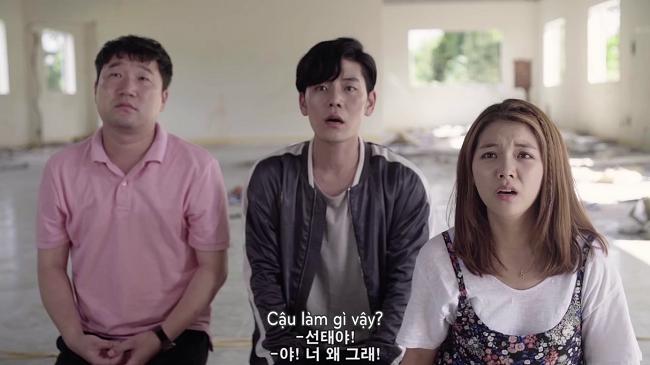 Nhóm bạn vô cùng bất ngờ vì lựa chọn của Seon Tae.