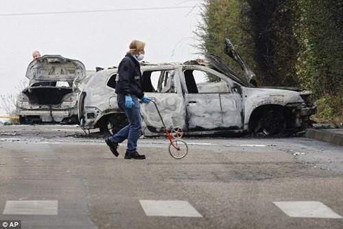 Pháp: 70kg vàng bị cướp giữa phố hệt như phim hành động
