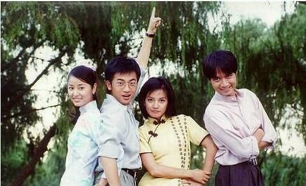 Lâm Tâm Như, Tô Hữu Bằng, Triệu Vy, Cổ Cự Cơ đã từng có một khoảng thời gian vui vẻ, hạnh phúccùng nhau khi đóng Tân Dòng Sông Ly Biệt.