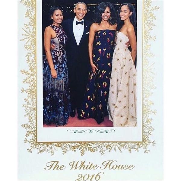 Bức ảnh gia đình Tổng thống Obama tại bữa tối cùng Thủ tướng Canada – Justin Trudeau hồi tháng 3 vừa qua.