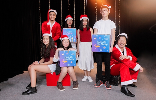 Thanh Bùi, Vũ Cát Tường lan tỏa yêu thương mùa Giáng Sinh