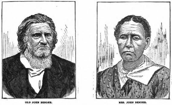 Ma và Pa Bender, hai người lớn trong gia đình và có thể là chủ mưu.