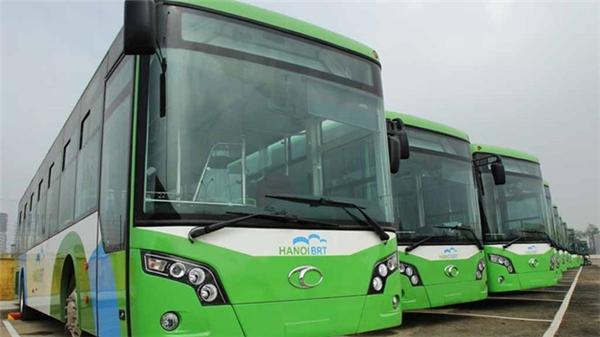 Tuyến xe buýt nhanh đầu tiên tại Hà Nội sắp được vận hành thử nghiệm.