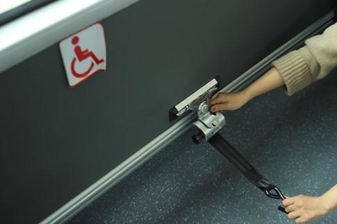Khu vực ưu tiên cho người ngồi xe lăn.