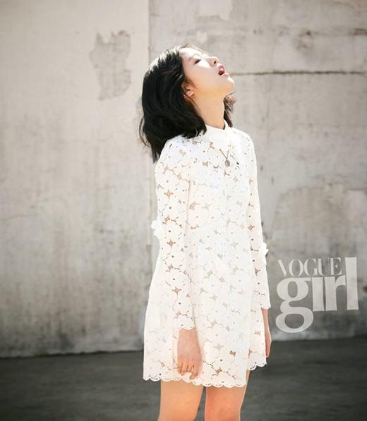 """Kim Go Eun được đánh giá rất cao khả năng diễn xuất dù chỉ là một """"tân binh""""."""
