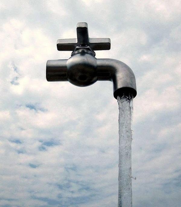 Vòi nước thần tạiAquafest, Grand Bend, Canada.