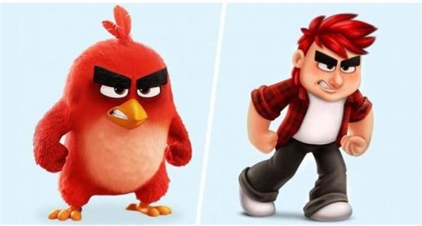 Cậu nhóc Angry Birdthìluôn giận dữ mọi lúc.
