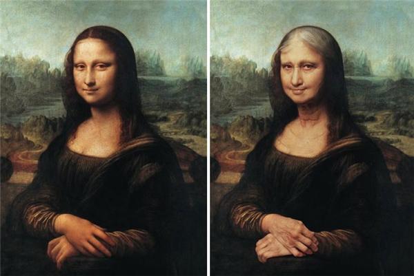 Cái bĩu môi bí ẩn của cụ bà Mona Lisa.