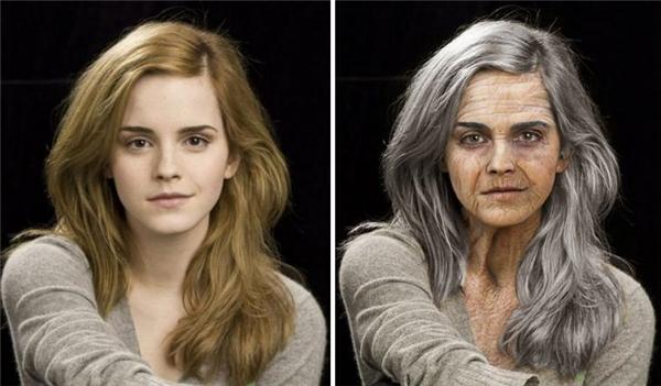 Chắc chắn Emma Watson sẽ luyện câu thần chú nào đó để tránh tàn phai nhan sắc như thế này.