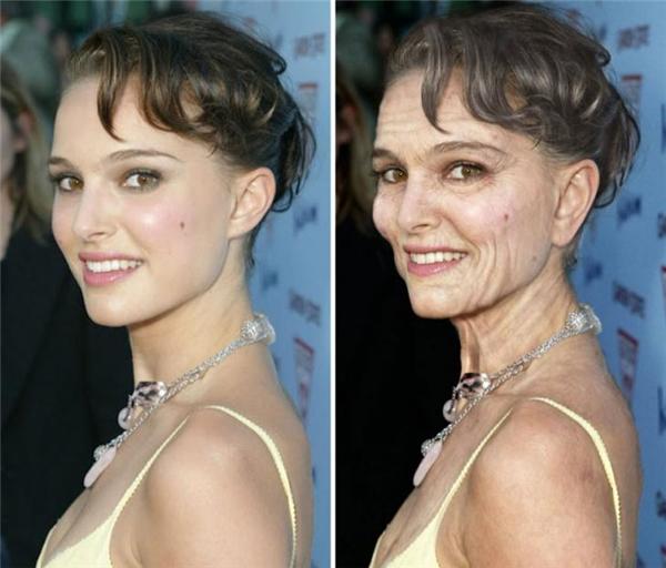 Dù trẻ hay già, Natalie Portman vẫn đẹp.