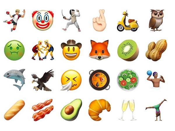 Rất nhiều emoji mới được Apple cập nhật lên iOS 10.2. (Ảnh:Business Insider)