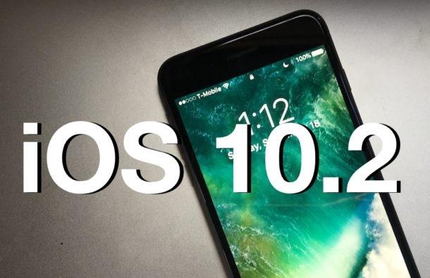 Apple vừa phát hành iOS 10.2 phiên bản chính thức. (Ảnh: internet)