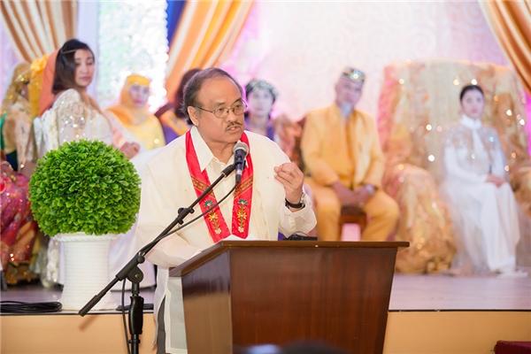Do bận công việc Chính phủ, Tổng thống Philippines Rodrigo Roa Duterte đã không thể có mặt trong ngày đại lễ sắc phong của công chúa Lý Nhã Kỳ. Ngài Tổng thống đã cử ông Nathaniel Dalumpines, Thư ký đại diện của ông ở vùng Mindanao thay mặt tham dự và đọc lời chào mừng tới Hoàng gia Mindanao và công chúa Lý Nhã Kỳ.