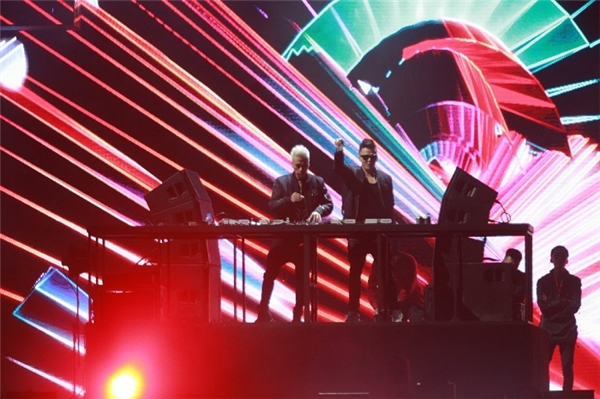 Mega City - lễ hội nhạc điện tử lớn nhất Hà Nội dịp cuối năm