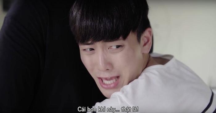 """Bị Deok Woo """"chơi xấu"""",Seon Tae chỉ còn biết chịu trận."""