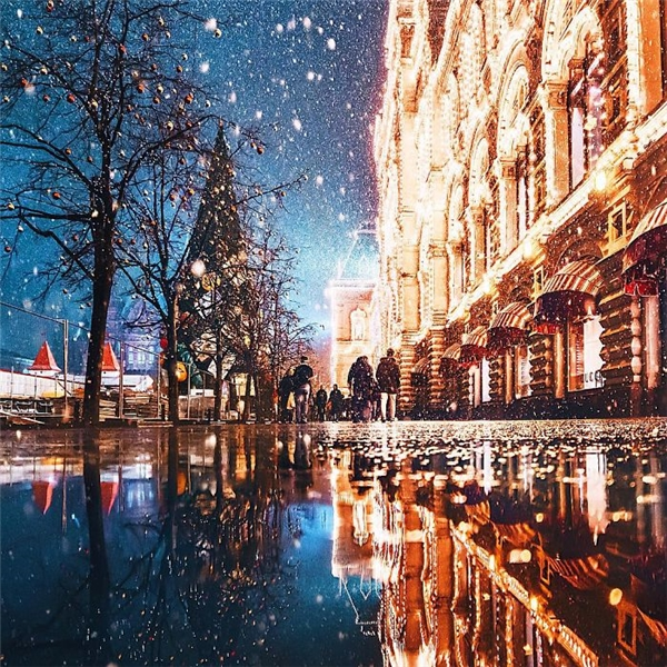Ngỡ ngàng vẻ đẹp huyền diệu nơi đón Giáng Sinh đẹp nhất thế giới