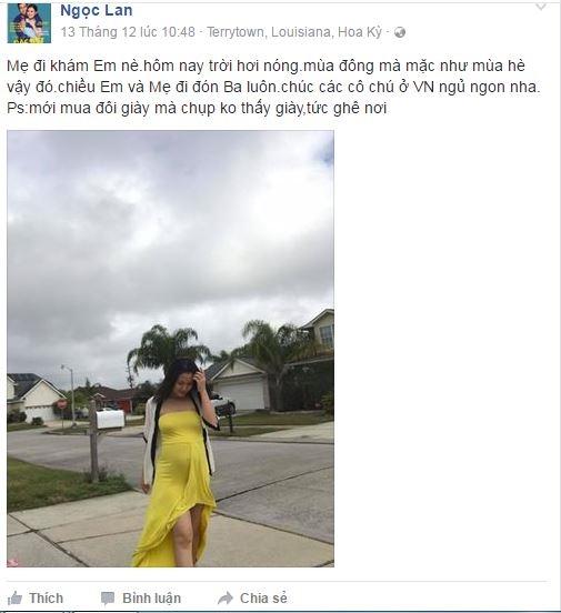 Trong đoạn video, bà xã Thanh Bình hoạt bát, đi lại thoải mái để chào mọi người và còn thể hiện điệu nhảy vui nhộn. Nữ diễn viên cũng chia sẻ niềm hạnh phúc sau khi siêu âm và cảm nhận được mầm sống trong bụng. - Tin sao Viet - Tin tuc sao Viet - Scandal sao Viet - Tin tuc cua Sao - Tin cua Sao