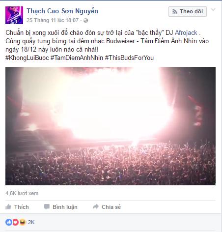 Dàn sao Việt háo hức tham gia đại nhạc hội EDM Tâm Điểm Ánh Nhìn