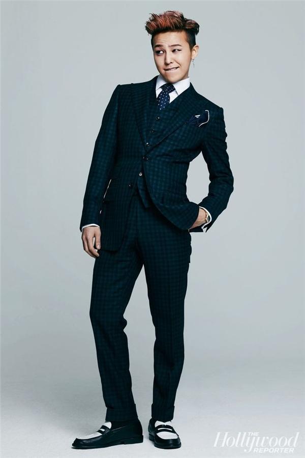 G-Dragon luôn mang trong mình thần thái rất riêng và vẻ gợi cảm hút hồnkhó cưỡng.