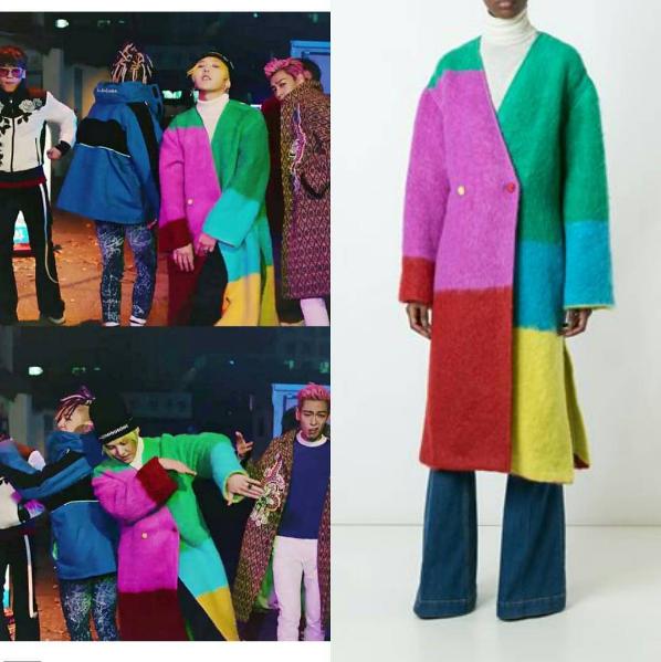 Áo khoácdạ đầy màu sắccủa hãng thời trangPorts1961.