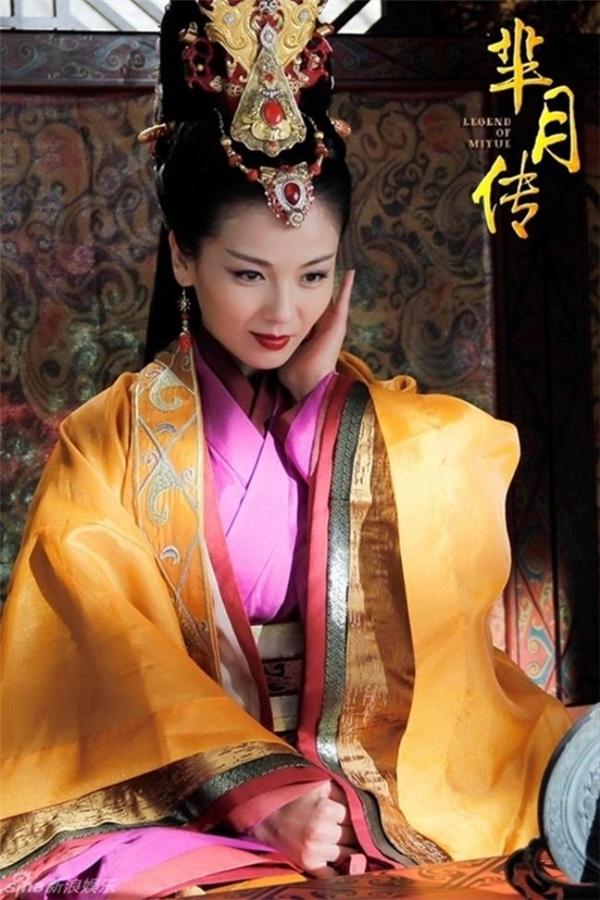 Trong bộ phim Mị Nguyệt Truyện, nữ diễn viên Lưu Đào đã chứng tỏ khả năng diễn xuất bậc nhất của mình khi thể hiện nhân vật phản diệnMị Xu.