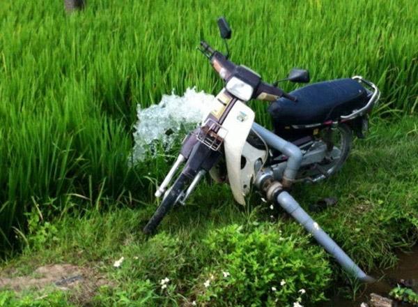 Máy bơm nước made in Vietnam.