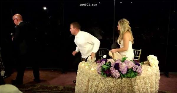 Chú rể vội vàng cứu người trong phút sinh tử mà quên rằng mình đang tổ chức hôn lễ.