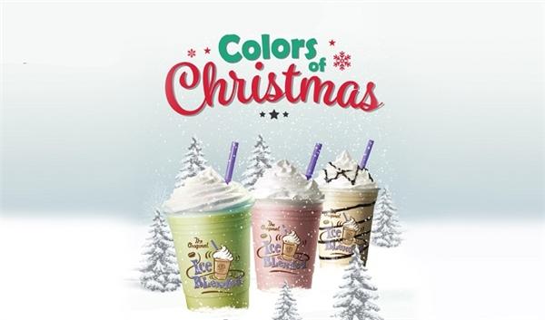 Bộ 3 thức uống đầy màu sắc Giáng sinh năm nay của The Coffee Bean & Tea Leaf Vietnam.