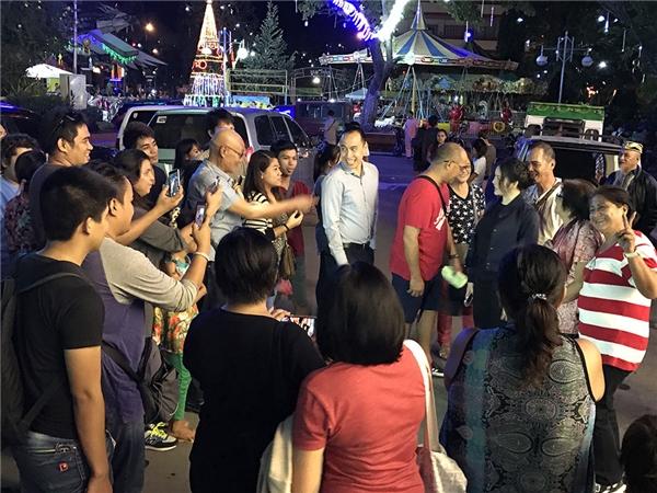 Sau lễ sắc phong, cả Davao như náo loạn vì Lý Nhã Kỳ