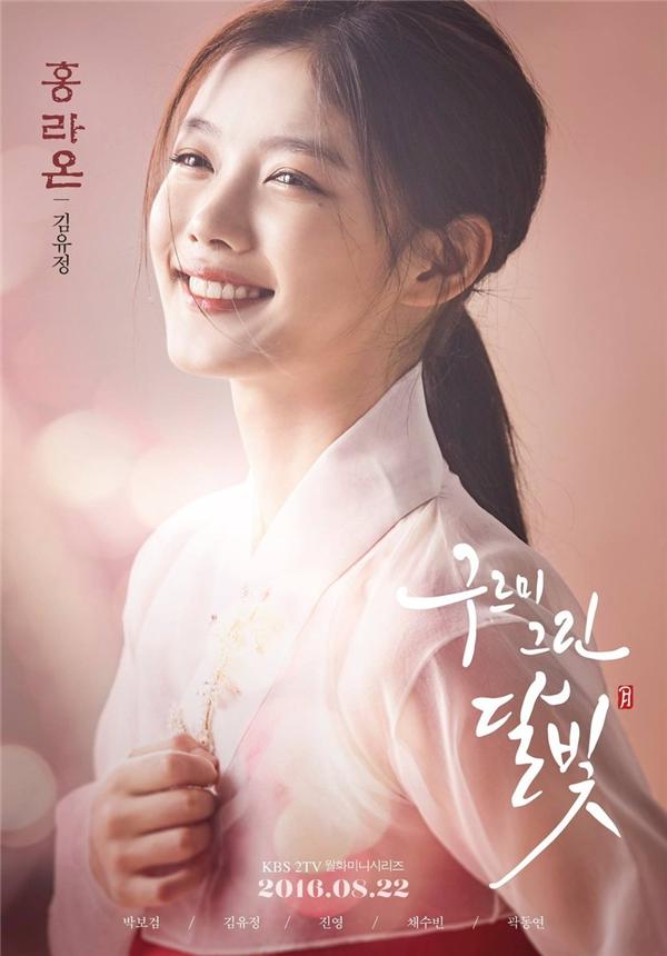 Kim Yoo Jung đứng vị trí thứ 4 với 8,2% lượt bình chọn.