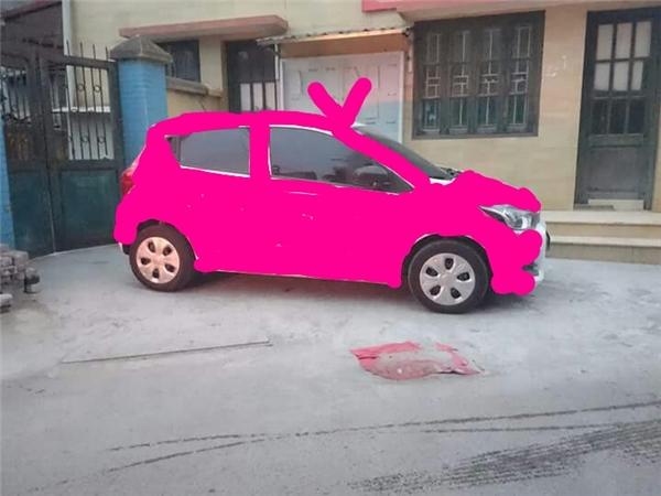 """Thôi thì chuyển cả xe sang màu hồng cho """"cu-te"""" nhé.(Ảnh: Internet)"""