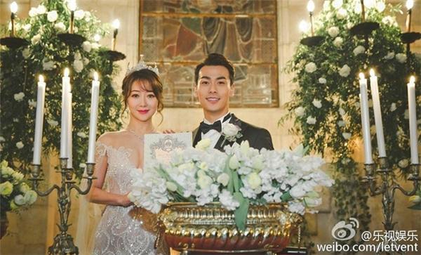 Một số hình ảnh trong đám cưới cổ tích của Trần Tử Hàm hồi tháng 12 vừa rồi.