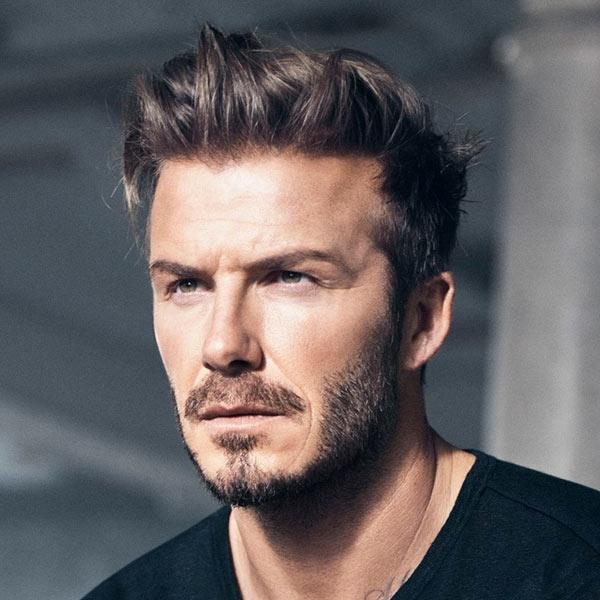 ...cho đến mái tóc lãng tử của David Beckham...