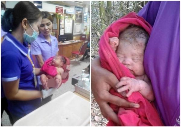 Đứa trẻ đã hồi sinh kì diệu sau những nỗ lực cứu chữa của mọi người. (Ảnh: Internet)