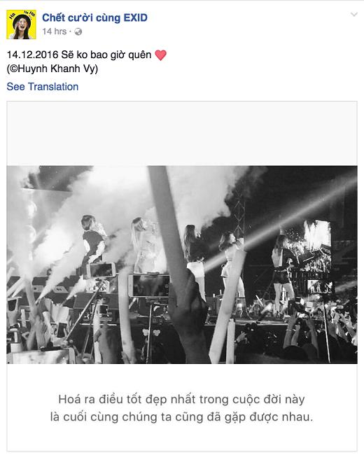 Những giọt nước mắt vỡ òa hạnh phúc của hàng ngàn fan trong buổi diễn.