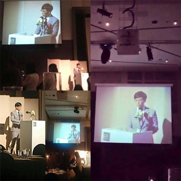 Yoo Jae Suk cũng tham dự với vai trò MC đặc biệt.