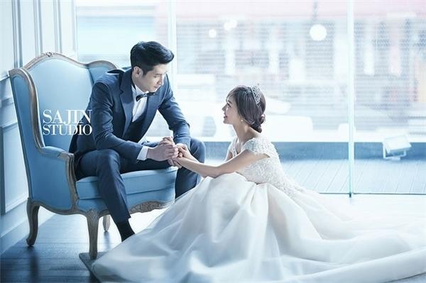 Những bức ảnh cưới đẹp lung linh của Moon Sung Min.