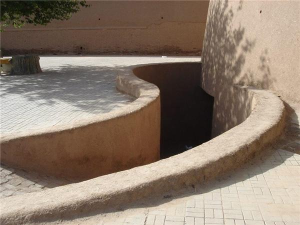 Hệ thống dẫn nước của hầm băng. (Ảnh: internet)