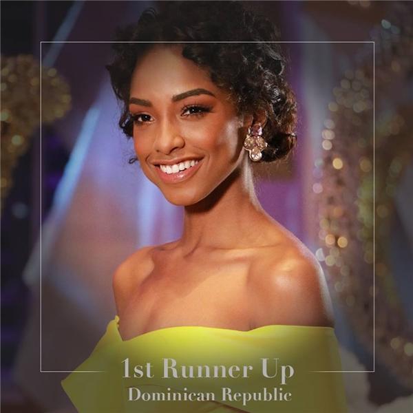 Á hậu 1: Cộng hòa Dominica Yaritza Reyes