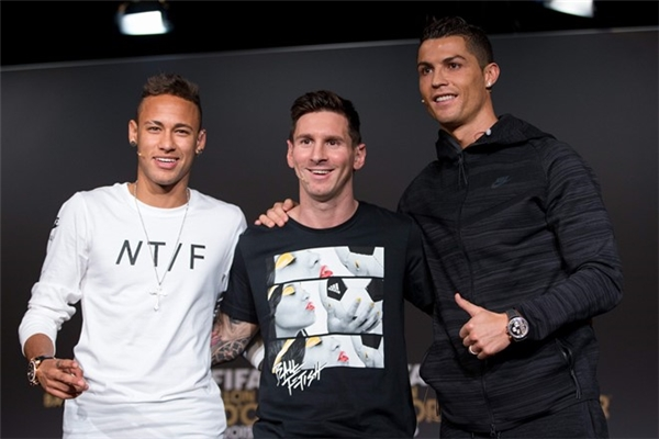 Messi luôn có tên trong danh sách 3 ứng viên cuối cùng cho danh hiệu quả bóng vàng.