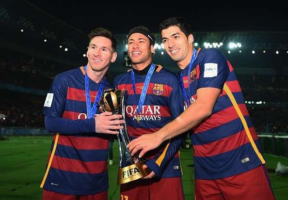 Messi 3 lần cùng Barca nâng cao danh hiệu vô địch thế giới các câu lạc bộ vào năm 2009, 2011 và 2015.