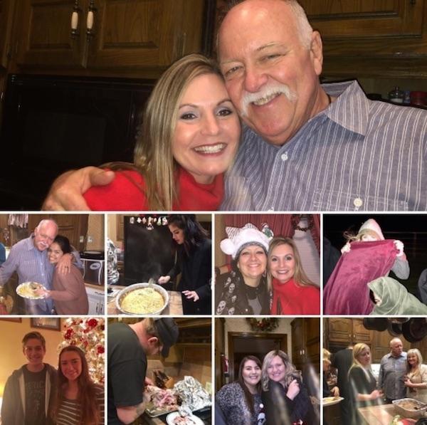 Những khoảnh khắc trong tiệc Giáng Sinh tại nhà Selena.