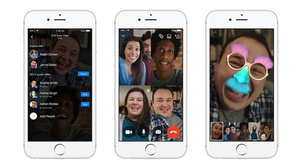 Facebook cập nhật thêm tính năng gọi thoại nhóm