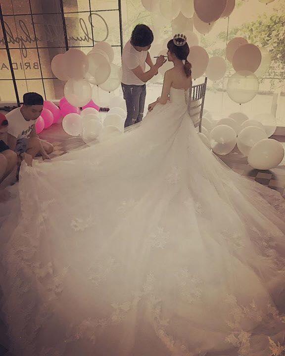 Cận cảnh chiếc váy cưới lộng lẫy của Hari Won. - Tin sao Viet - Tin tuc sao Viet - Scandal sao Viet - Tin tuc cua Sao - Tin cua Sao