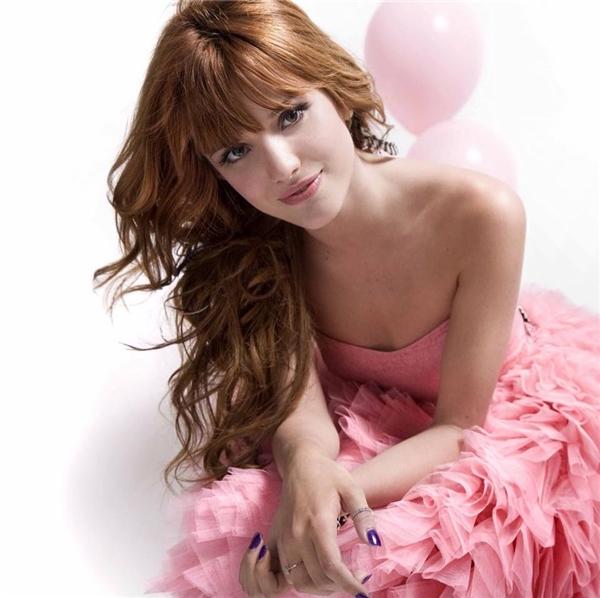 Nhan sắc xinh đẹp của Bella Thorne.