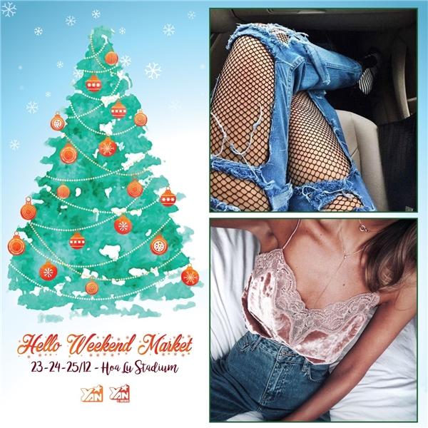 Đón Giáng sinh hoành tráng cùng Hello Weekend Market!